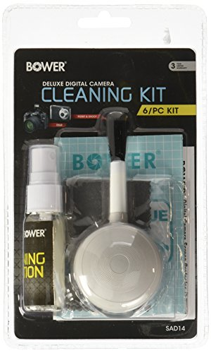 Bower SAD14 6-in-1 Digital Camera Cleaning Kit