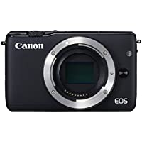 Canon EOS M10 Mirrorless Digital Camera (Black Body Only) - International Version (No Warranty)