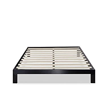 Zinus Modern Studio 10 Inch Platform 2000 Metal Bed Frame / Mattress Foundation / no Boxspring needed / Wooden Slat Support, Full