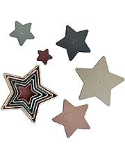 mushie Nesting Stars Toy | Made in Denmark