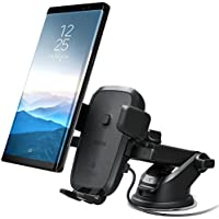 iOttie Easy One Touch 4 Qi Wireless Fast Charging Car Mount for iPhone X, 8/8 Plus, Samsung Galaxy S8, S7/S7 Edge, Note 8 5 & Qi Enabled Devices