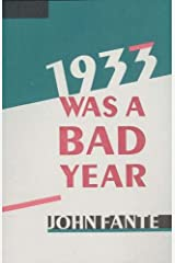 1933 Was A Bad Year Kindle Edition