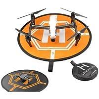 ShopAzon Fast-folding Drone Landing Pad Portable Parking Apron for DJI Mavic Pro/ Phantom 3/4/ Inspire 1 RC Drone Parts