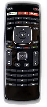XRT112 Remote Control are compatible for Vizio Smart Internet LED TV with Netflix/iHeart Radio APP Keys