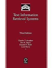 Text Information Retrieval Systems