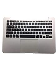 """Replacement for 13"""" Apple MacBook Pro Retina A1502 2015 Laptop Upper Case Palmrest Touchpad Keyboard Assembly Part 661-02361 Top Cover Trackpad"""