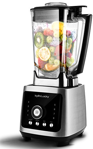 Professional and Commercial Smoothie Blender by KylinLucky-70-Ounce BPA-Free Cup - 8 Speeds - Heavy Duty Food Processor for Ice, Soup, Mincemeat, Nut Butter Etc