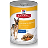Hill'S Science Diet Senior Wet Dog Food, Adult 7+ Savory Stew With Chicken & Vegetables Canned Dog Food, 12.8 Oz, 12 Pack