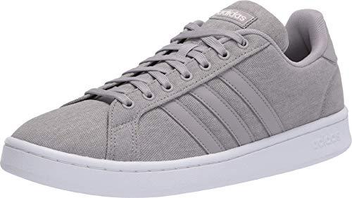 adidas mens Grand Court Sneaker, Light Granite/Light Granite/Orbit Grey, 9.5 US