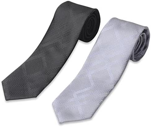 Set of 2 Neckties by Mens Collections- Multiple Ties Variations to Chose From!