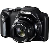 Canon PowerShot SX170 digital camera wide angle 28mm optical 16x zoom PSSX170IS - International Version (No Warranty)