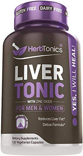 Liver Cleanse Detox & Repair Formula – 24 Herbs Support Supplement: Milk Thistle Extracts Silymarin, Beet, Artichoke, Dandelion, Chicory Root