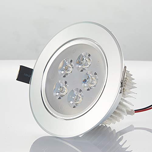 a5eede27b974 Luz Lámpara de techo LED downlight empotrable de luz de de de pasillo 3W  apertura 7.5