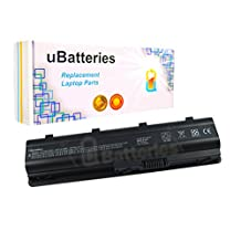 UBatteries Replacement Laptop Battery HP Compaq MU06 MUO6 - 6 Cell, 48Whr