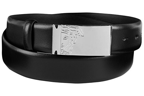 Versace Collection Men's Medusa Buckle Leather Belt (100 EU/40 - Bag Versace Medusa