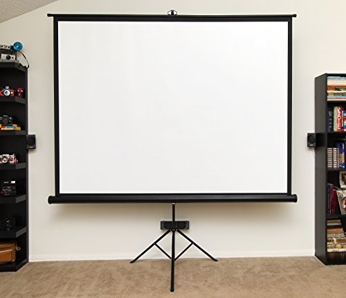 Insight 100 inch 4:3 Ratio Tripod Ultra HD Projector Screen w/ Bonus Carrying Bag Included
