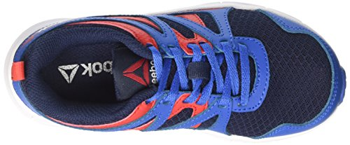 Reebok Run Supreme 2.0 - Zapatillas de Running Niños Azul (Azul/(Awesome Blue/Collegiate Navy/Primal Red/) 000)