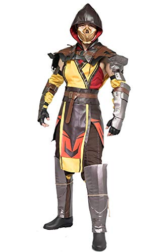 Mortal Kombat 11 Scorpion Costume for Adult L -