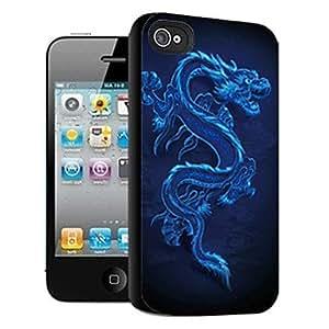 HP-Dragón patrón caso el efecto 3D para iphone4/4s
