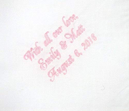 Mother of the Bride Handkerchief, Mother of the Groom Gift, Personalized Embroidered Hankie, Grandmother Handkerchief