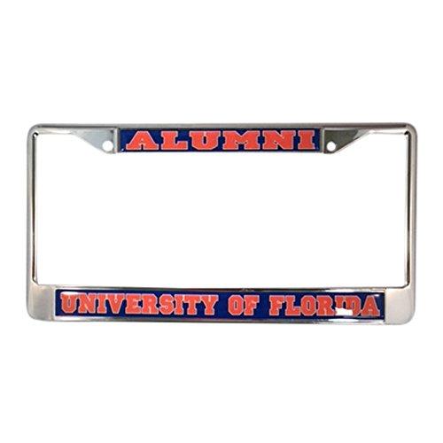 University of Florida License Plate Frame/Tag For Front Back of Car Officially Licensed (Alumni - Metal Frame)