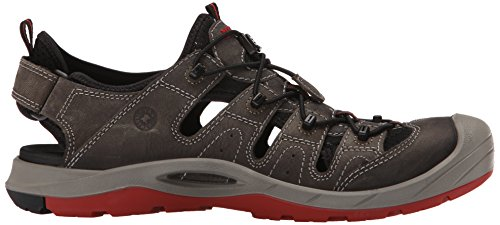 Ecco Biom Delta Herren Outdoor Fitnessschuhe Grau (darkshadow / Black / Tomato 59494)