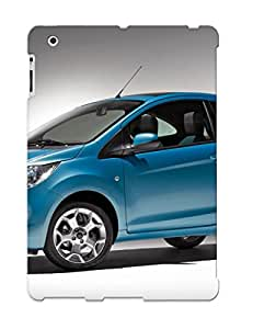 Fkaccl-1866-svhbxxx New Ipad 2/3/4 Case Cover Casing(blue Ford Ka 2008 )/ Appearance
