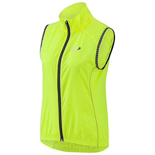 (Louis Garneau Women's Nova 2 Bike Vest, Bright Yellow, Large)