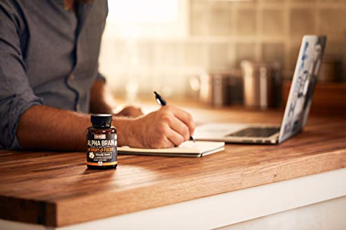 Onnit Alpha Brain: Clinically Studied Nootropic for Memory, Focus, and Mental Clarity (180ct) by ONNIT (Image #3)
