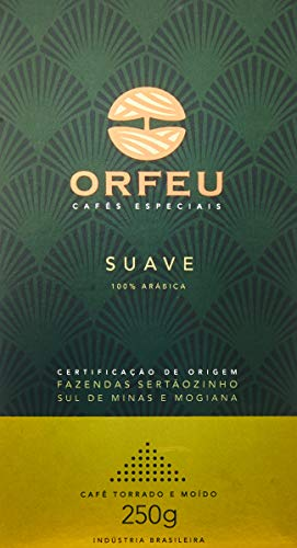 Café Moído Suave Orfeu 250g
