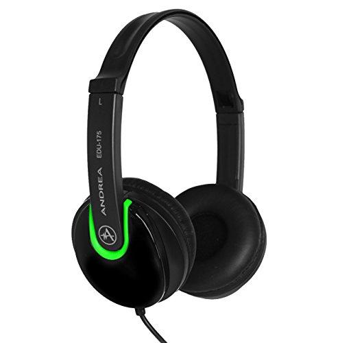 Andrea Electronics EDU-175 Stereo Headphones EDU - 175 ()