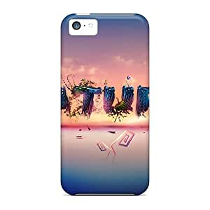Iphone 5c Hard Cases With Awesome Look - Black Friday