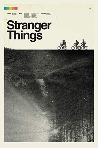 Stranger Things Posters Prints Unframed product image