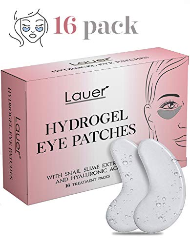 Under Eye Bags Treatment Patches  Eye Mask with Hyaluronic acid and SNAIL Slime Extract  Puffy Eyes