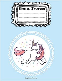 Amazon.com: Bullet Journal: A4 - 156 paginas - unicornio ...
