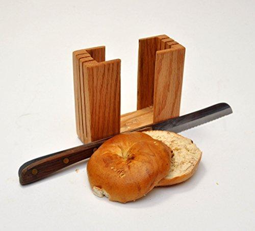 wood bagel slicer - 9