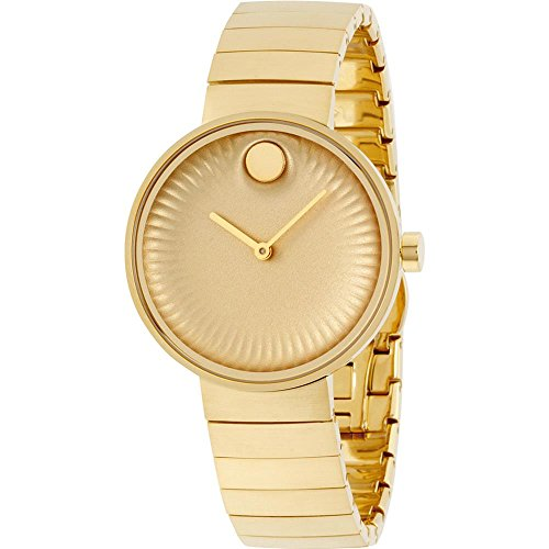 Movado Edge Women's Yellow Gold 34 mm Watch