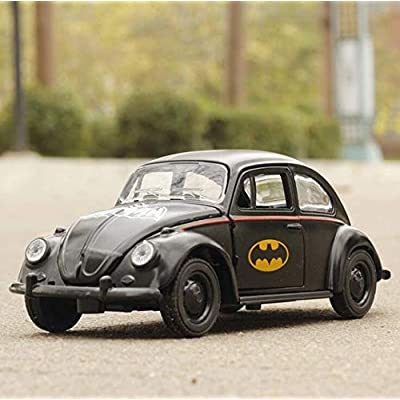 Kili Batman Volkswagen Beetle Bug Toy Model Diecast Classic Retro Collect Metal Alloy: Toys & Games