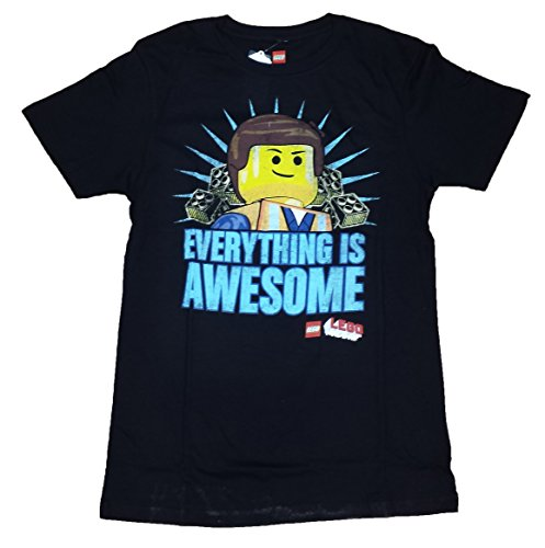 LEGO The Movie Everything is Awesome Licensed Graphic T-Shirt