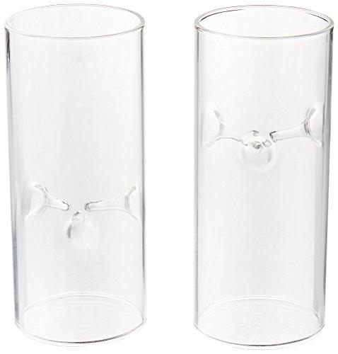 Luminary Glass (Weddingstar 9247 Blown Glass Miniature Tealight Luminaries)