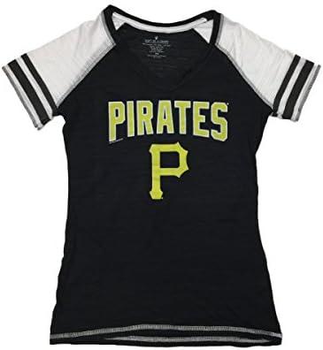 cheaper cce58 1f7ad Amazon.com : Soft As A Grape Pittsburgh Pirates SAAG Women ...