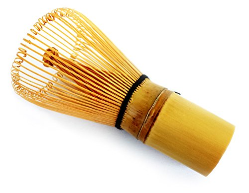 HARU MATCHA - MADE IN JAPAN - Traditional Handcarved Golden Bamboo Matcha Whisk (100 Prongs) by Haru Matcha (Image #3)