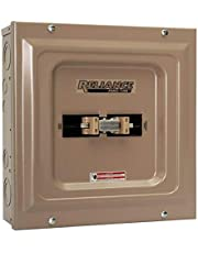 Reliance Controls Corporation TCA1006D Panel/Link 100-Amp Utility/60-Amp Generator Transfer Switch for Generators Up To 15,000 Watts