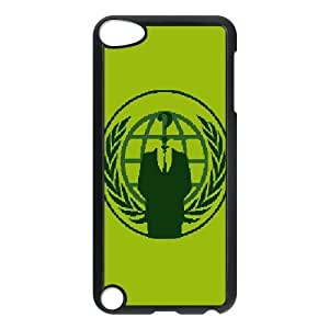 Printed Cover Protector Ipod Touch 5 Cell Phone Case BlackAnonymousAnfth Unique Design Cases