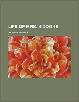 Book Life of Mrs. Siddons