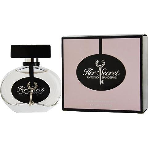 Antonio Banderas Her Secret Eau de Toilette Spray, 1.7 Ounce - Antonio Banderas Fragrances