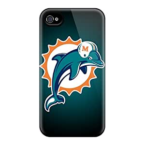 Protective Hard Cell-phone Case For Iphone 6 (NxY17361XJxW) Unique Design High Resolution Miami Dolphins Image