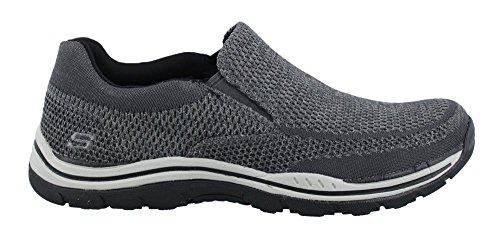 Skechers Men's Relaxed Fit Expected Gomel Slip On Sneaker,Gray,US 11 WW
