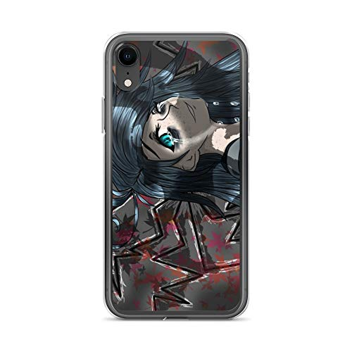 iPhone XR Case Anti-Scratch Japanese Comic Transparent Cases Cover Melancholy Anime & Manga Graphic Novels Crystal Clear