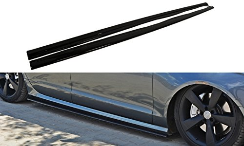 Side Skirts Add-On Diffusers Audi A6 C7 S-Line